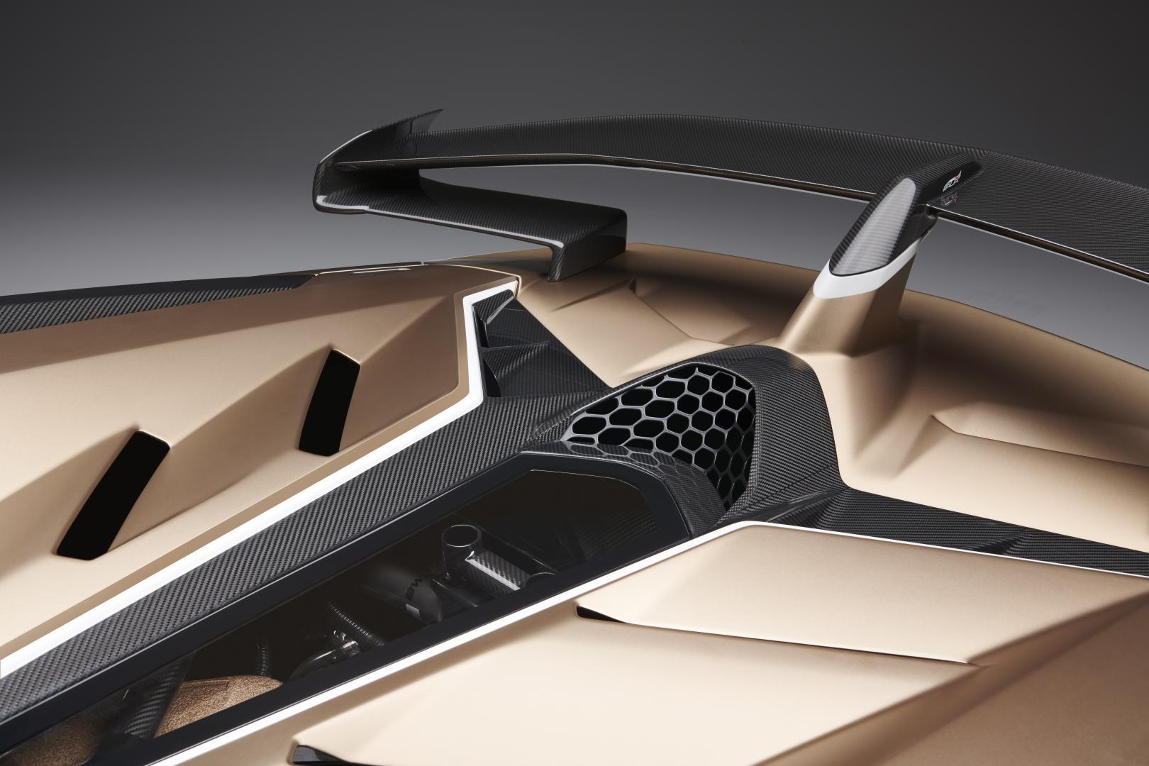 Lamborghini Aventador SVJ Roadster 2019 ALA koolstofvezel spoiler