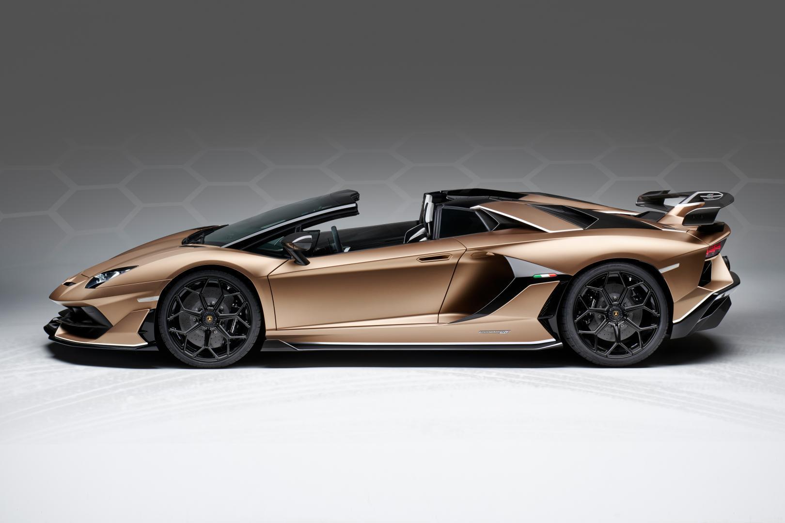 Lamborghini Aventador SVJ Roadster 2019