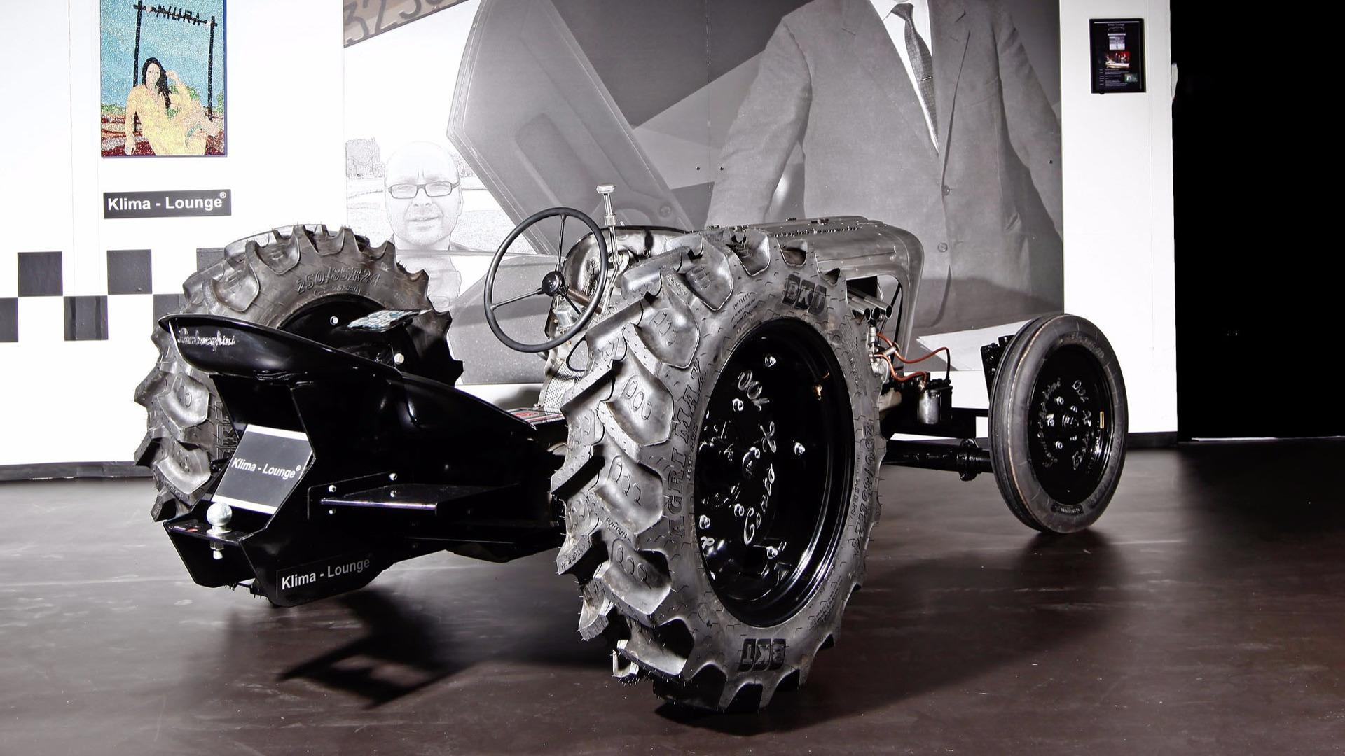 Lamborghini Centenario Tractori