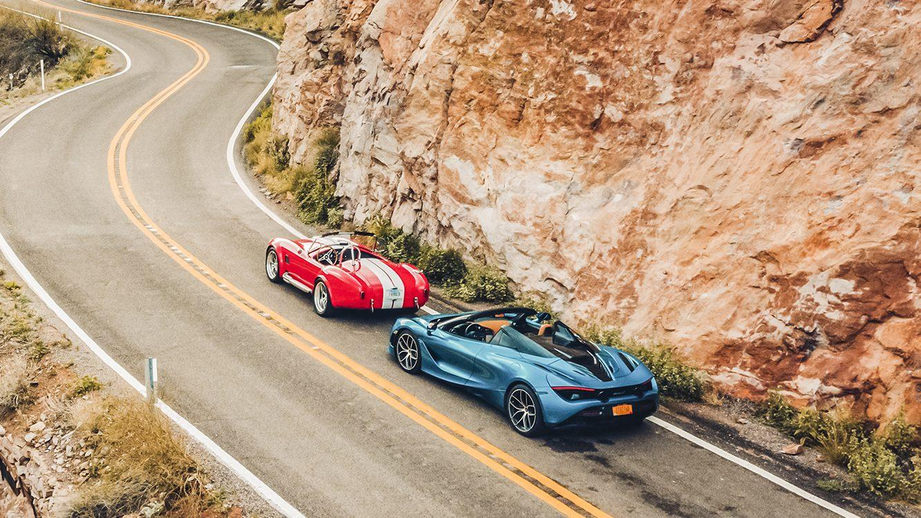 McLaren 720s Spider vs Superformance Cobra 427