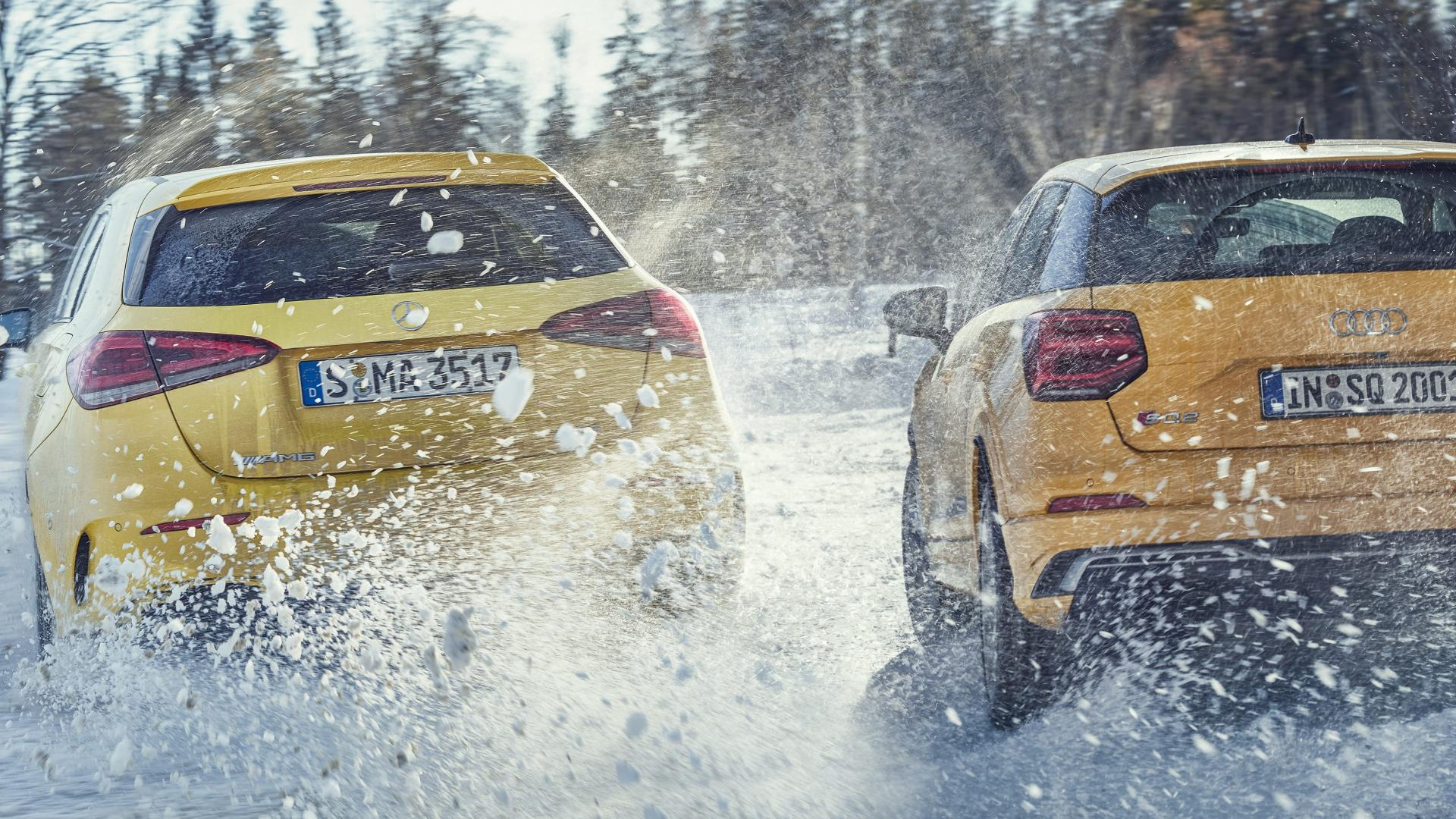 Audi SQ2 vs Mercedes-AMG A 35