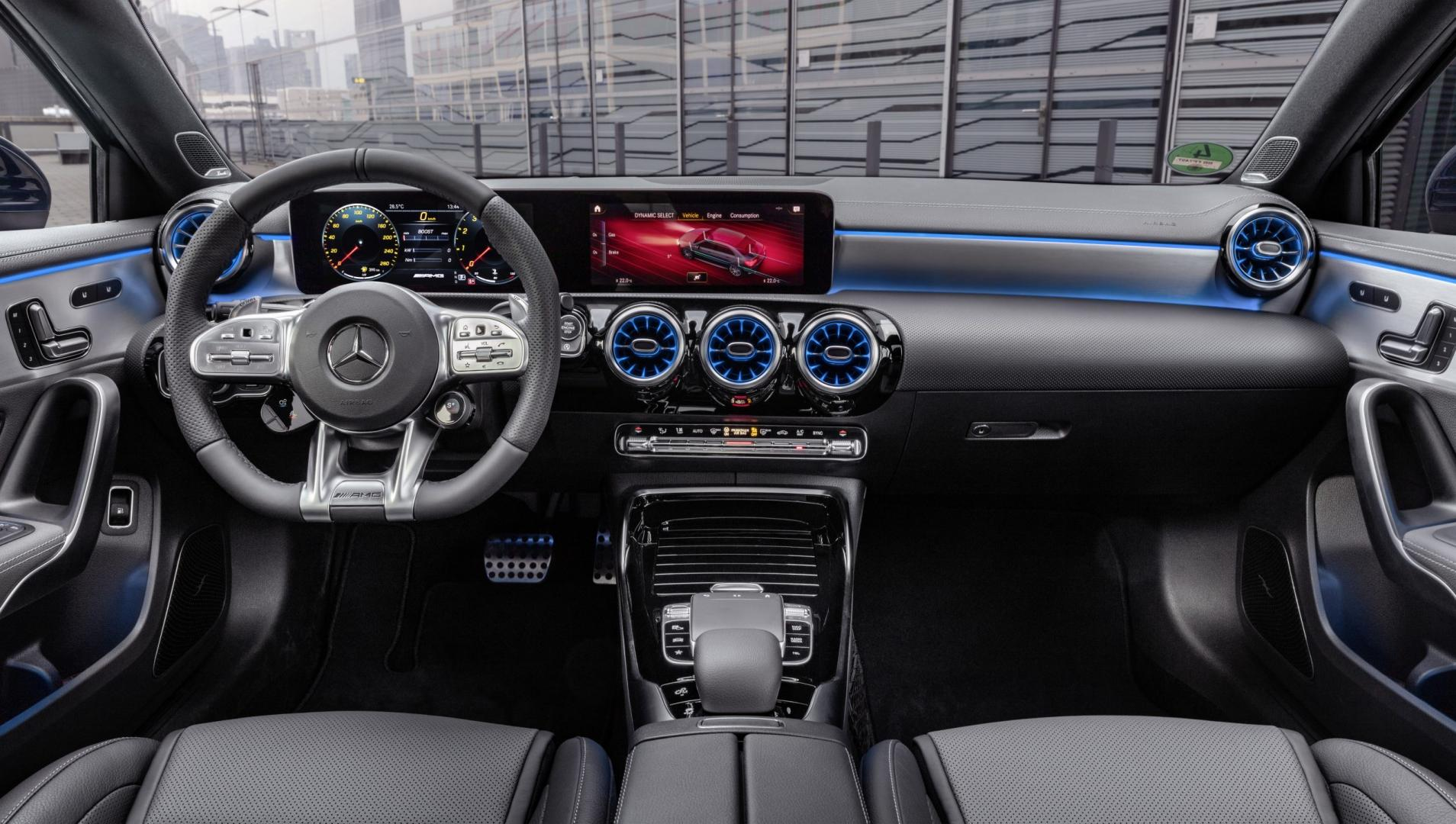 Mercedes-AMG A 35 2019 interieur dashboard