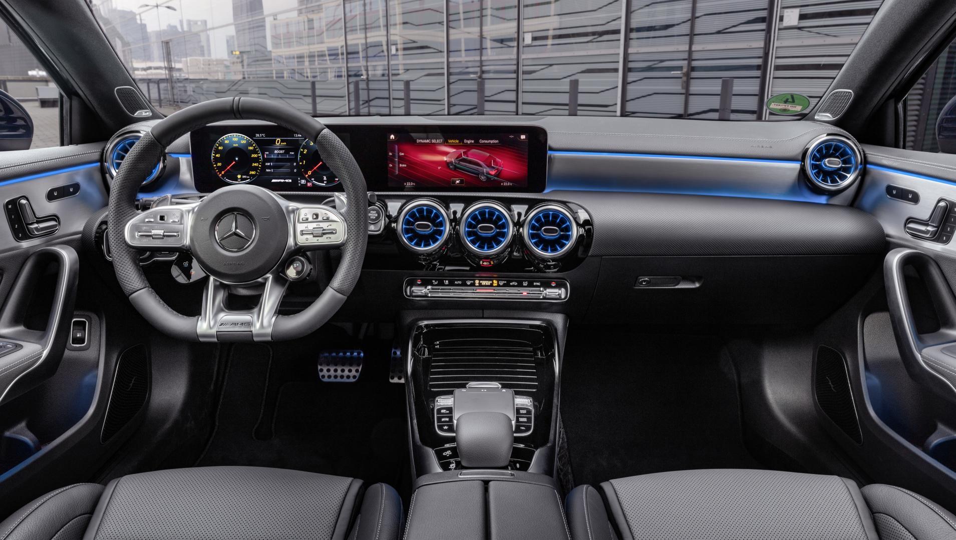 Mercedes-AMG A 35 2019 interieur dashboard