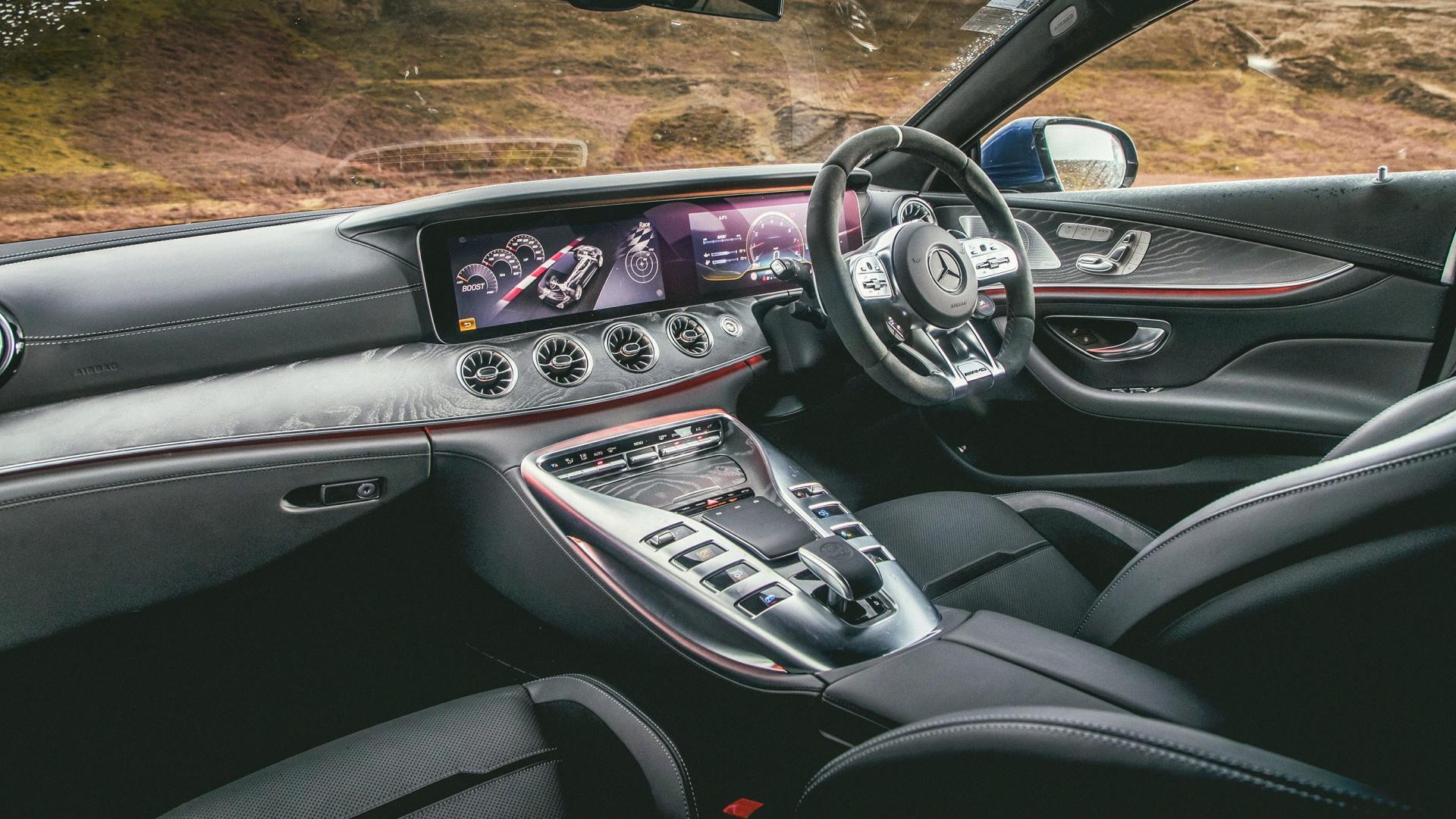 Mercedes-AMG GT 63 S 4Matic+ 4-Door interieur