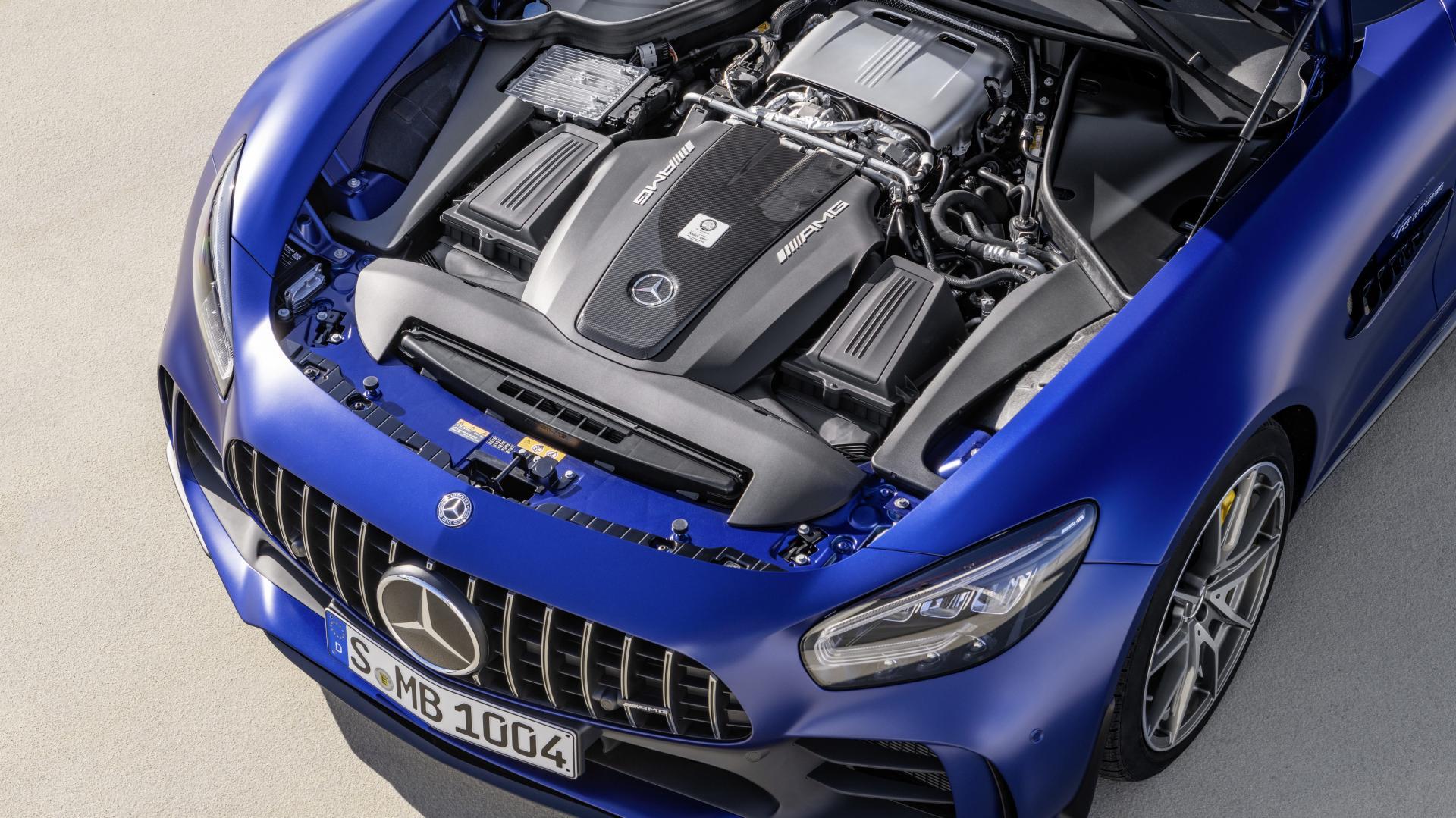 Mercedes-AMG GT R Roadster (2019) motor