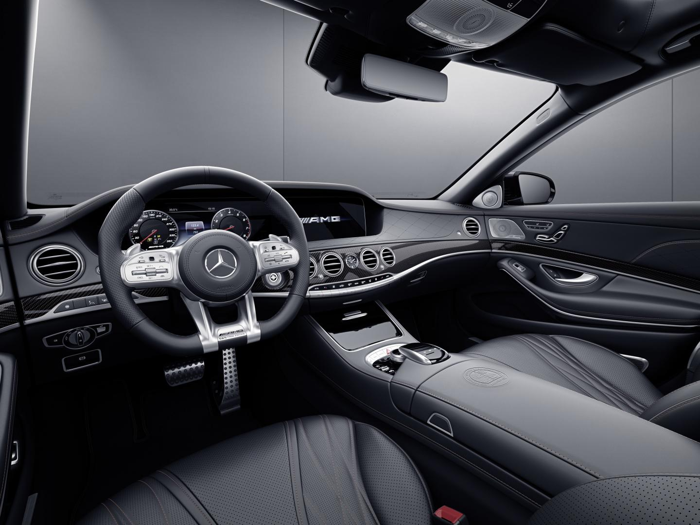 Mercedes-AMG S 65 Final Edition interieur dashboard