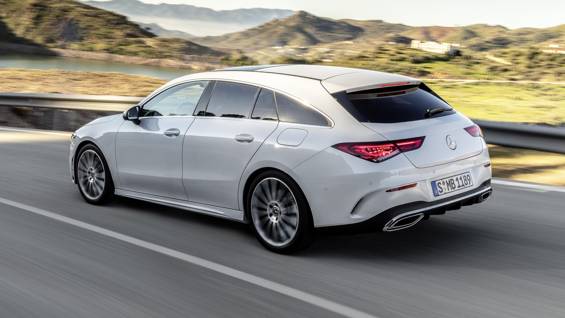 Mercedes CLA Shooting Brake 2019 wit