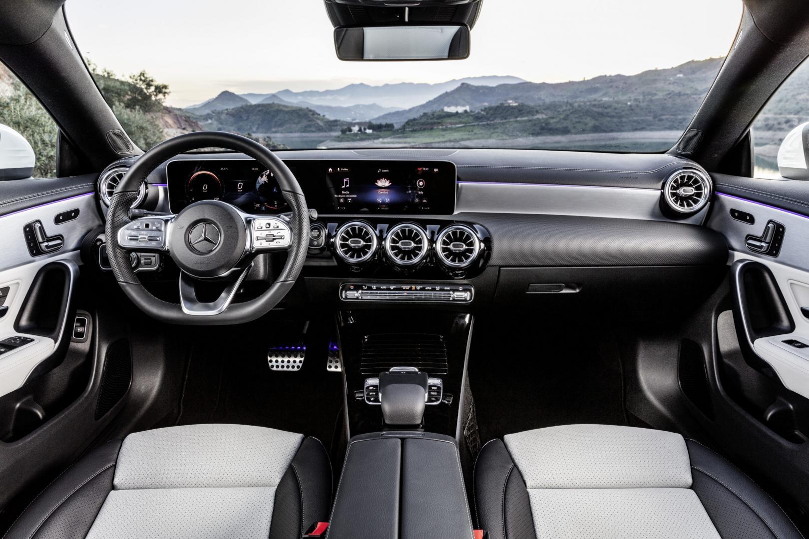 Mercedes-Benz CLA Shooting Brake interieur 2019