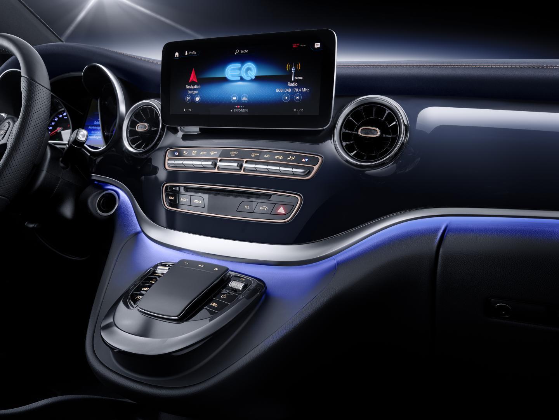 Mercedes EQV Concept interieur