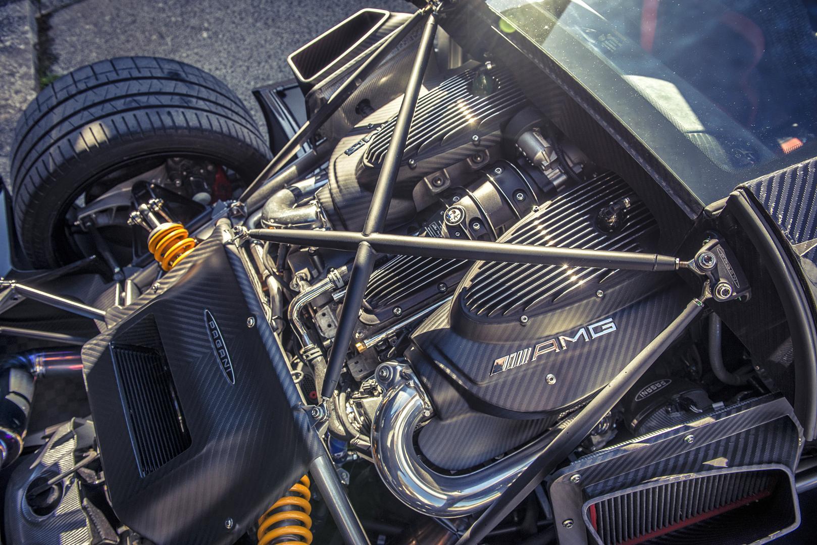 AMG V12 Pagani Huayra BC