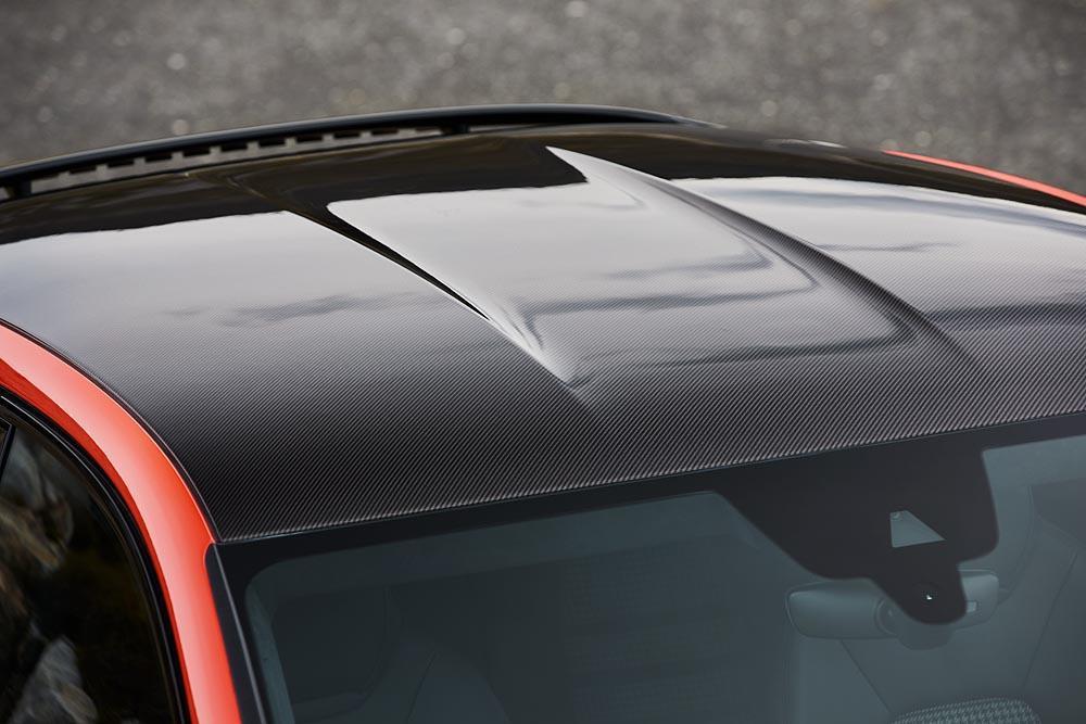 Porsche Cayenne Coupe 2019 koolstofvezel dak