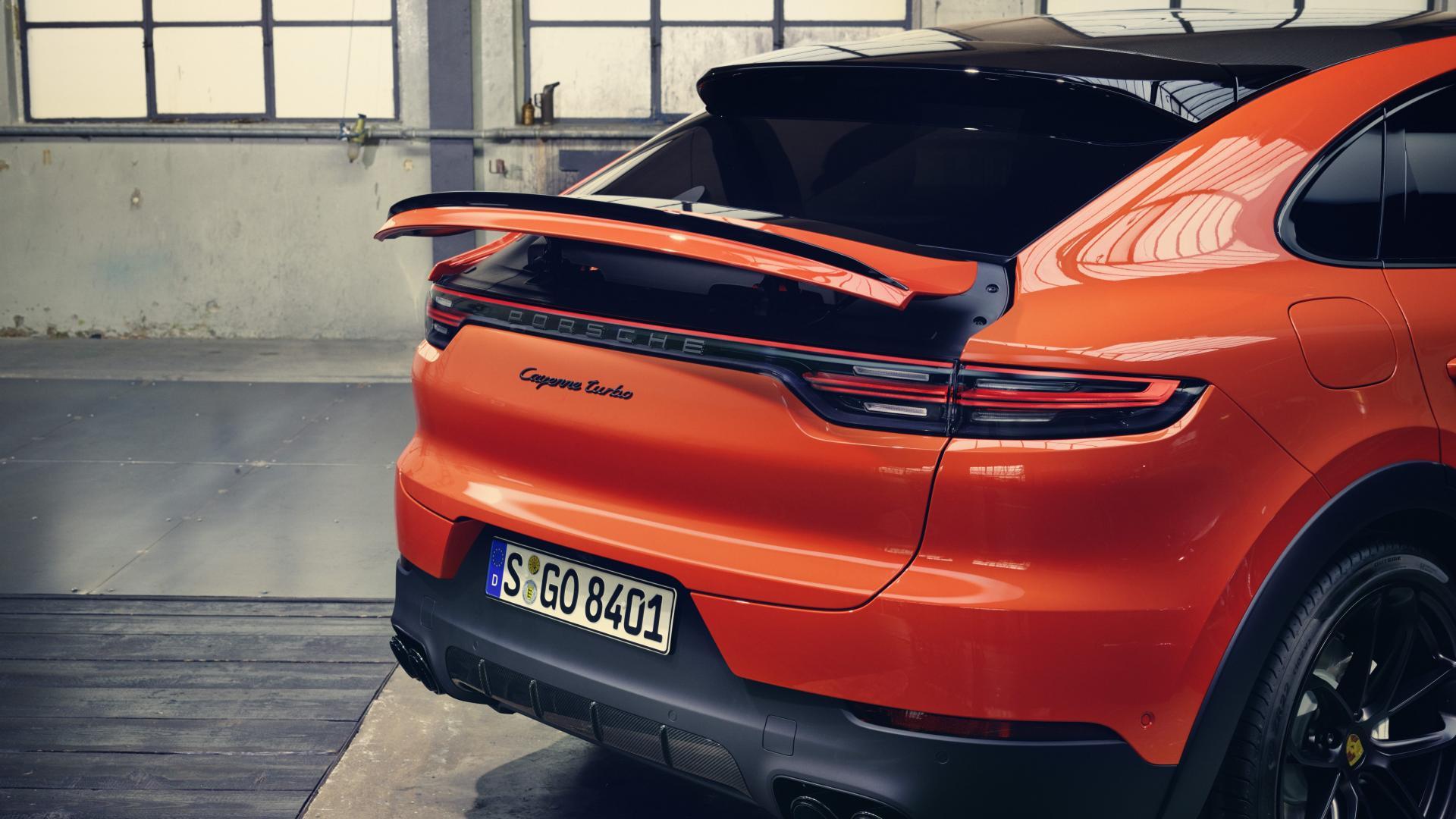 Porsche Cayenne Coupe 2019 spoiler