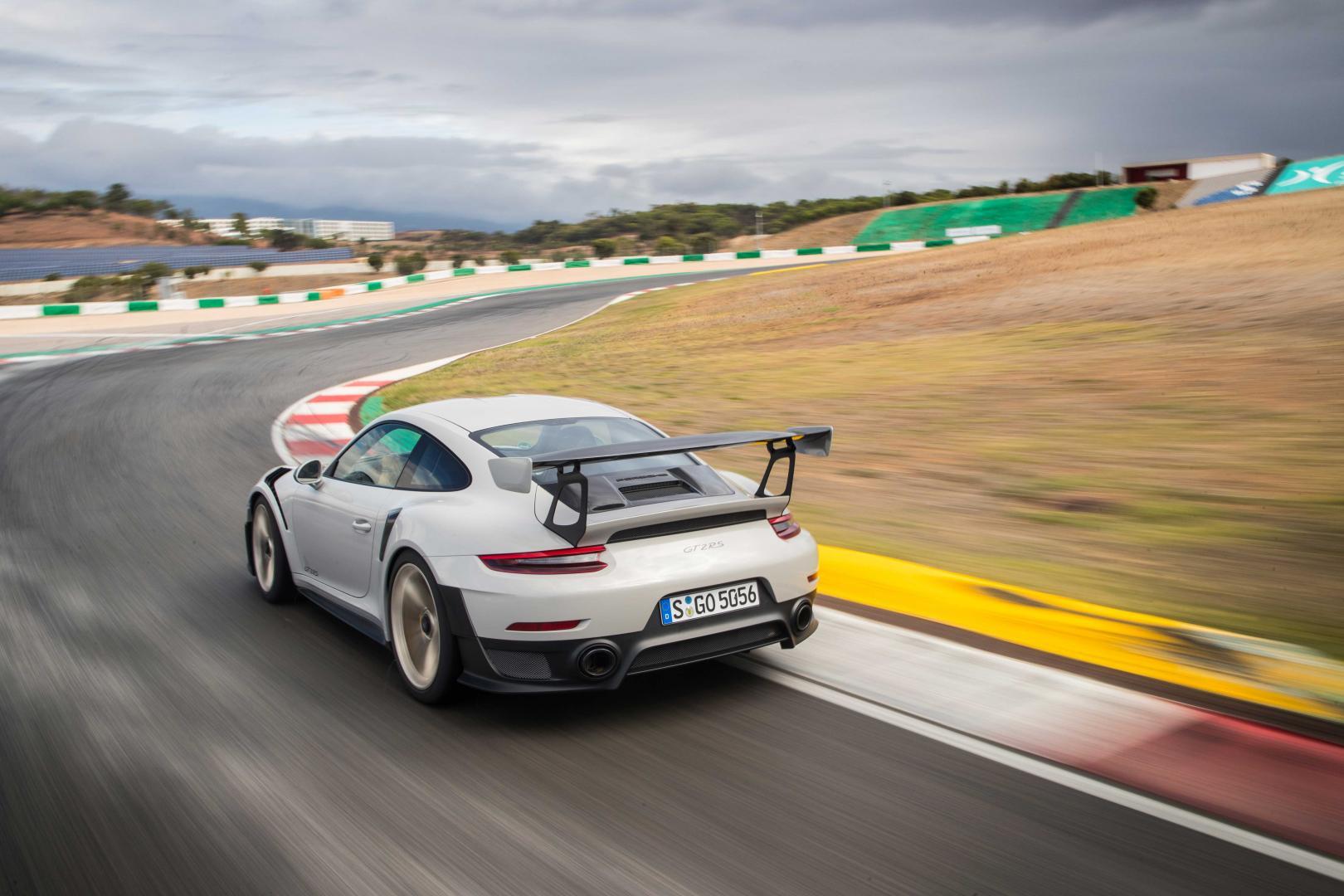Porsche 911 GT2 RS'en gezonken