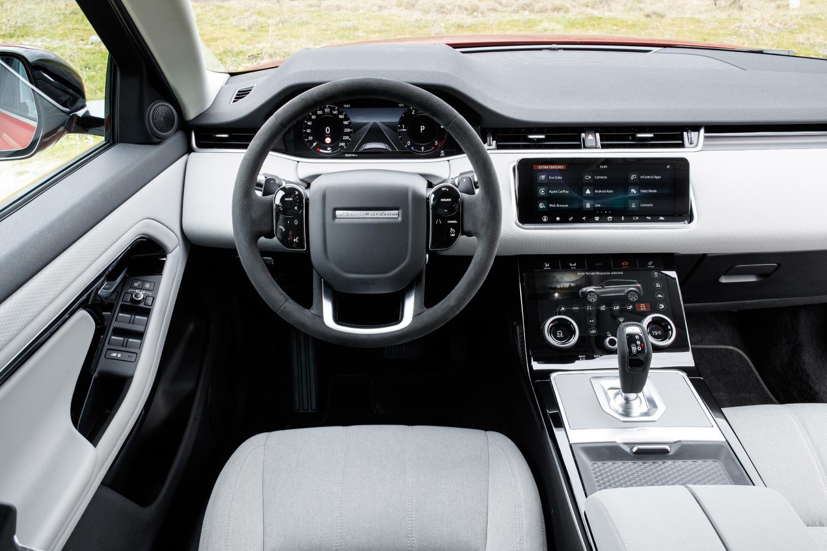 Range Rover Evoque S dashboard