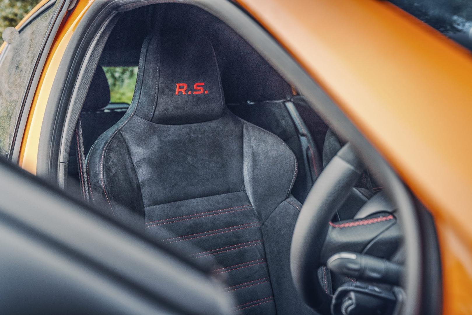 Renault megane rs 280 2019 stoelen