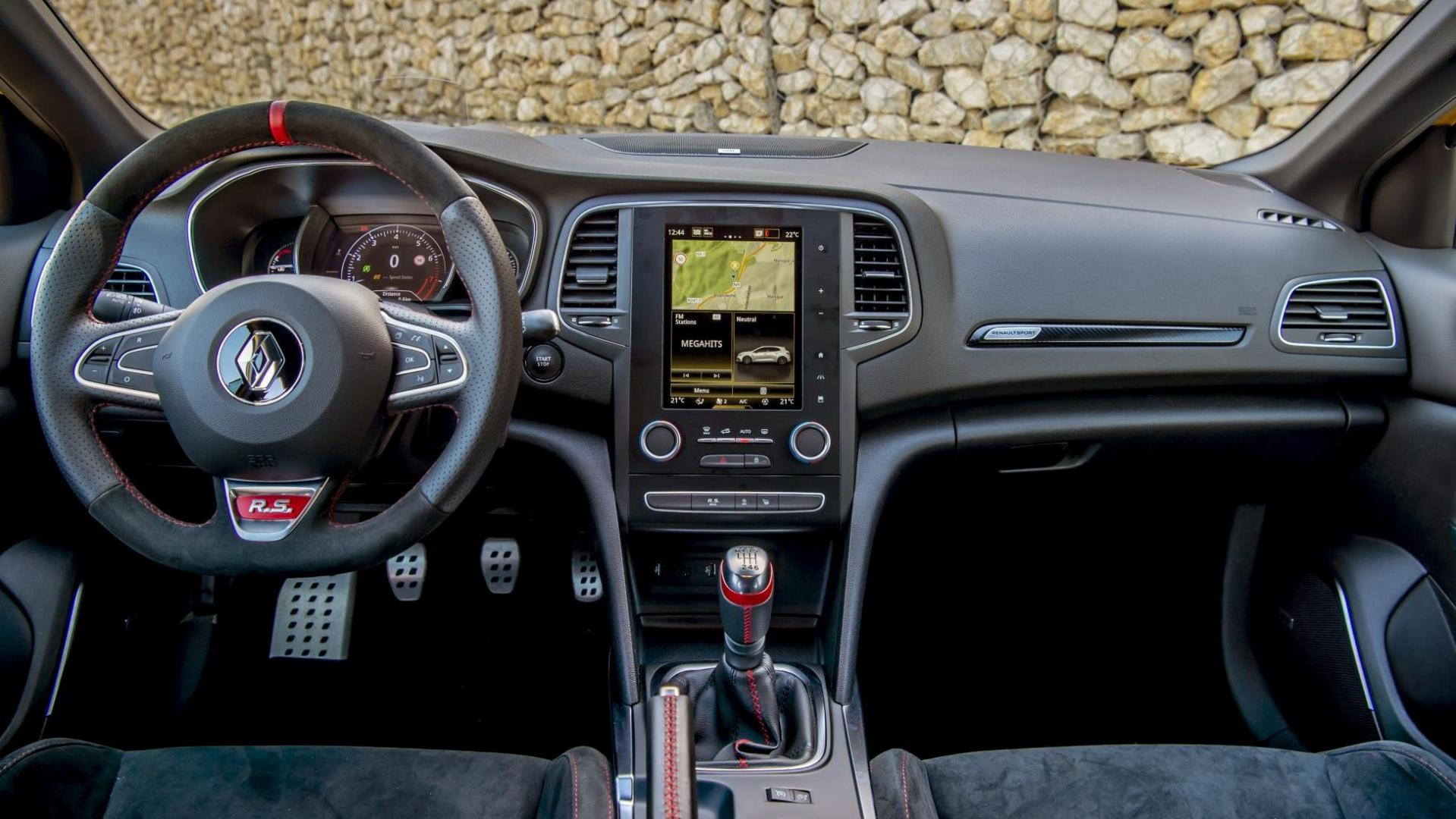 Renault Megane RS 300 Trophy interieur