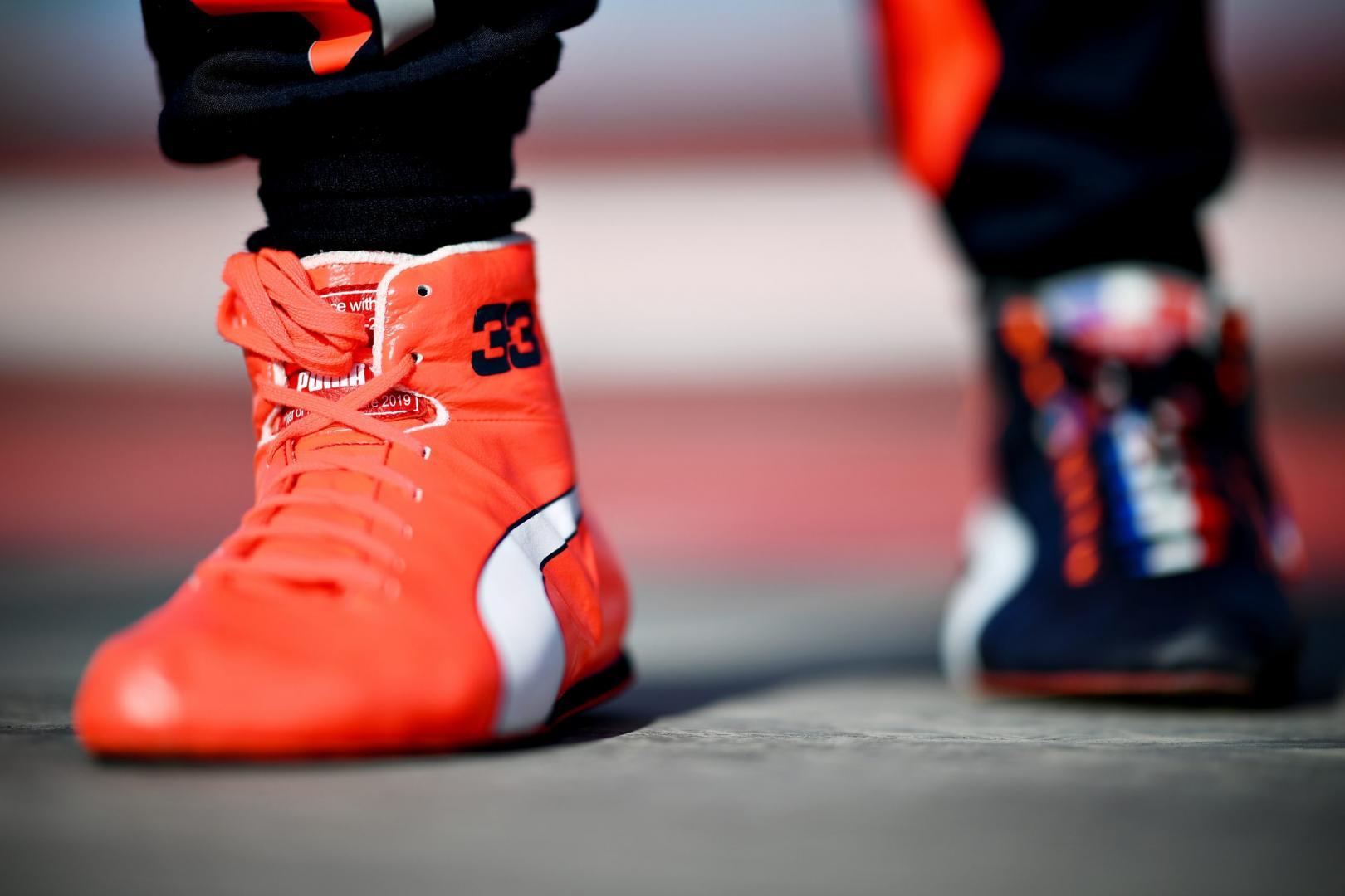 GP van Bahrein 2019 Red Bull Max Verstappen schoenen