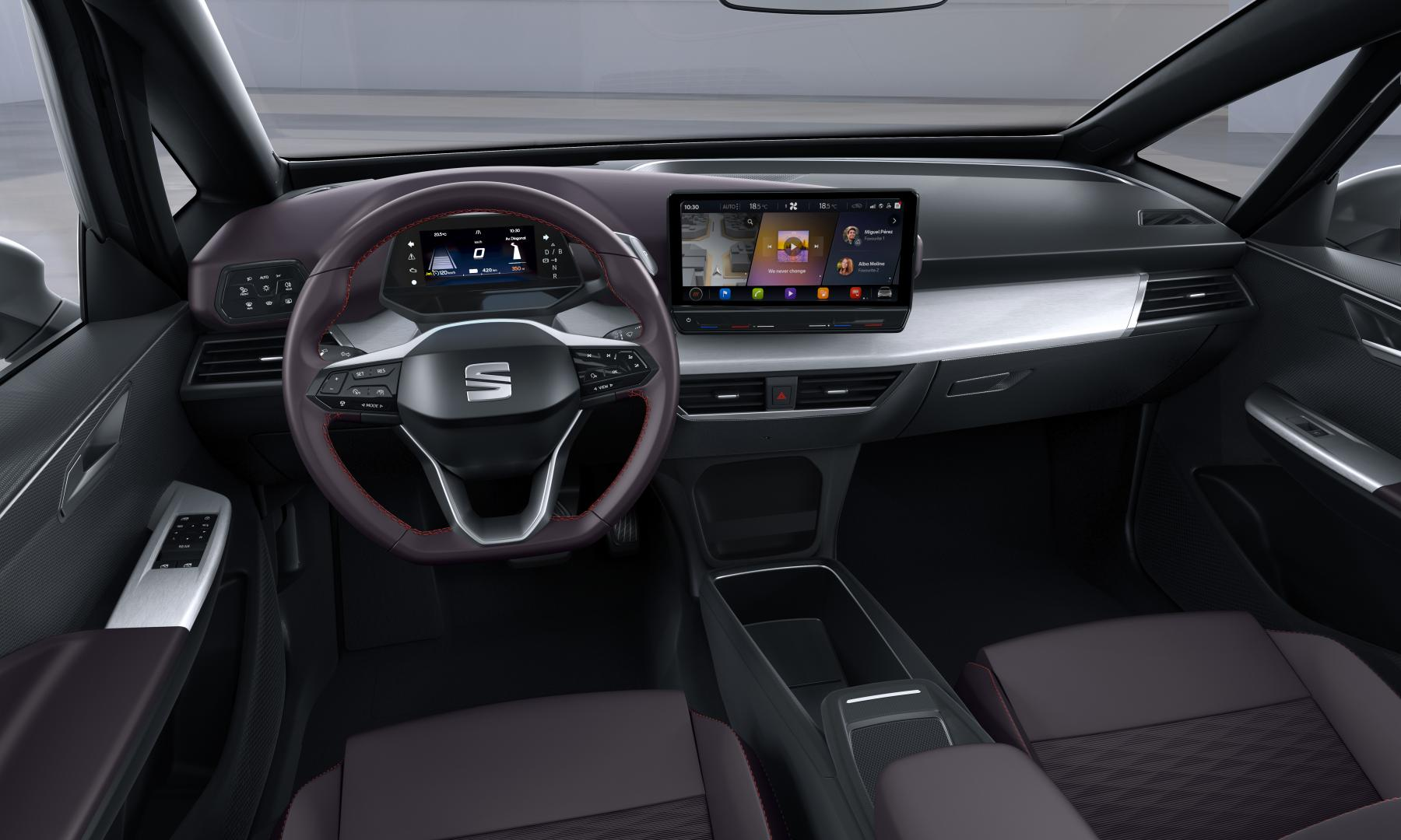 Seat el-Born 2020 interieur dashboard