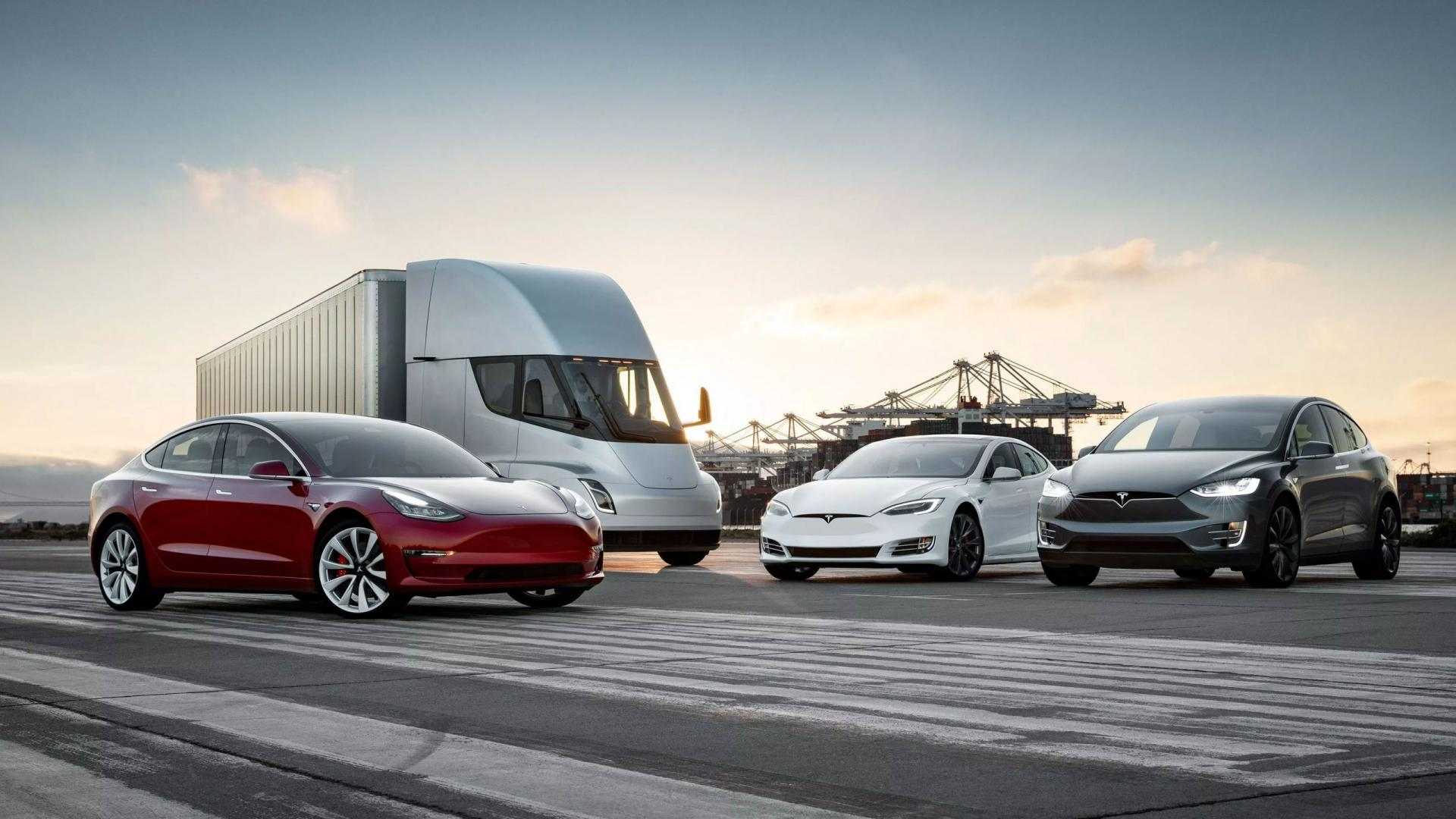 Tesla Model 3, model S, Model X en geen Model Y