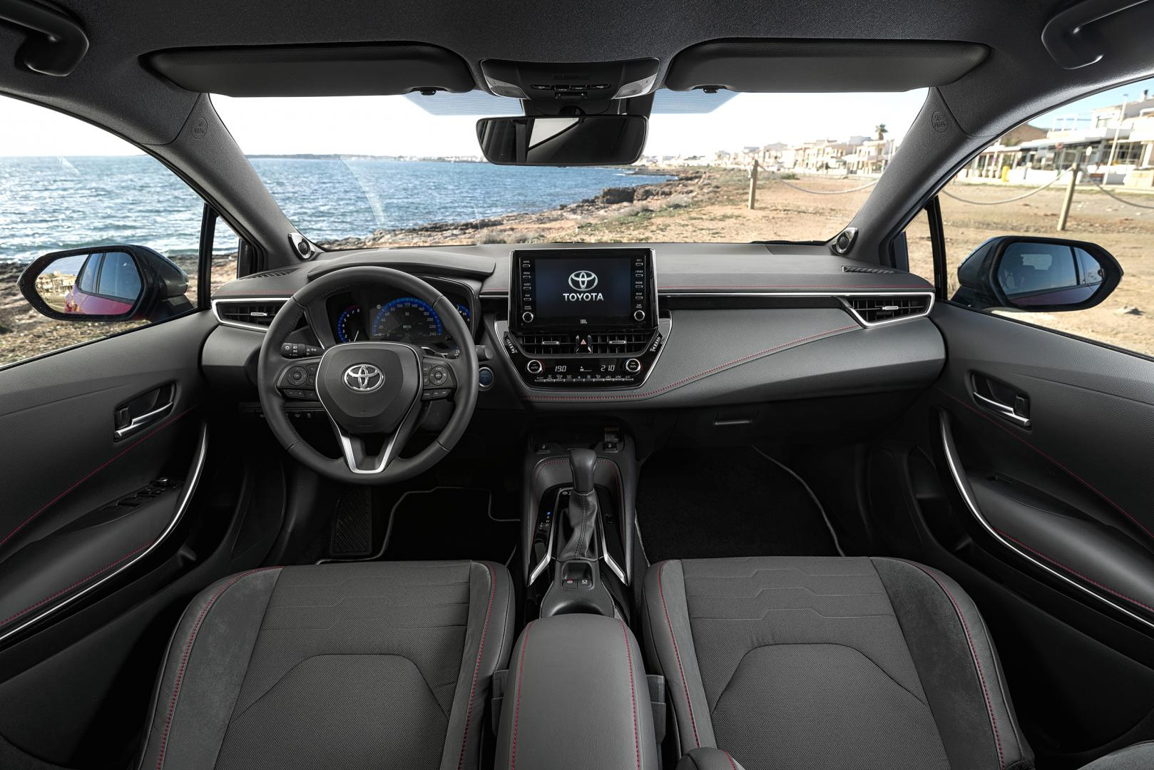 Toyota Corolla 2.0 High Power Hybrid Executive interieur dashboard