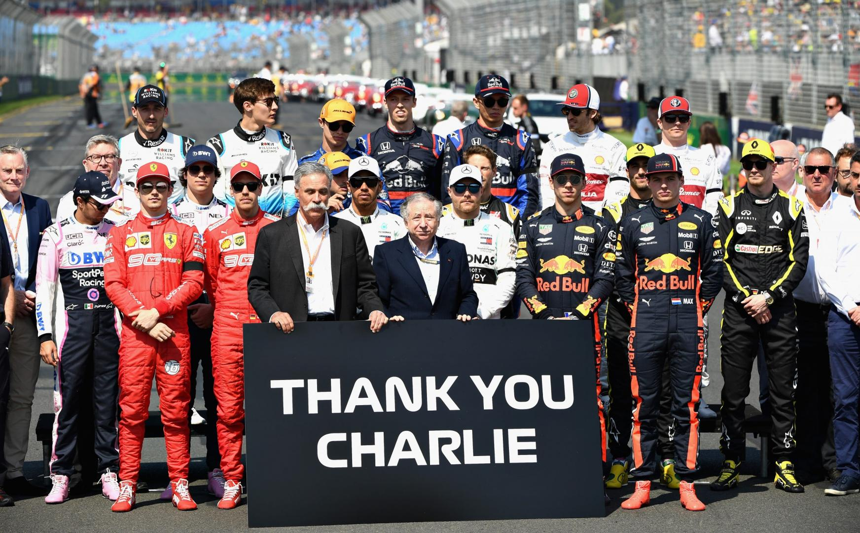 Uitslag van de GP van Australië 2019