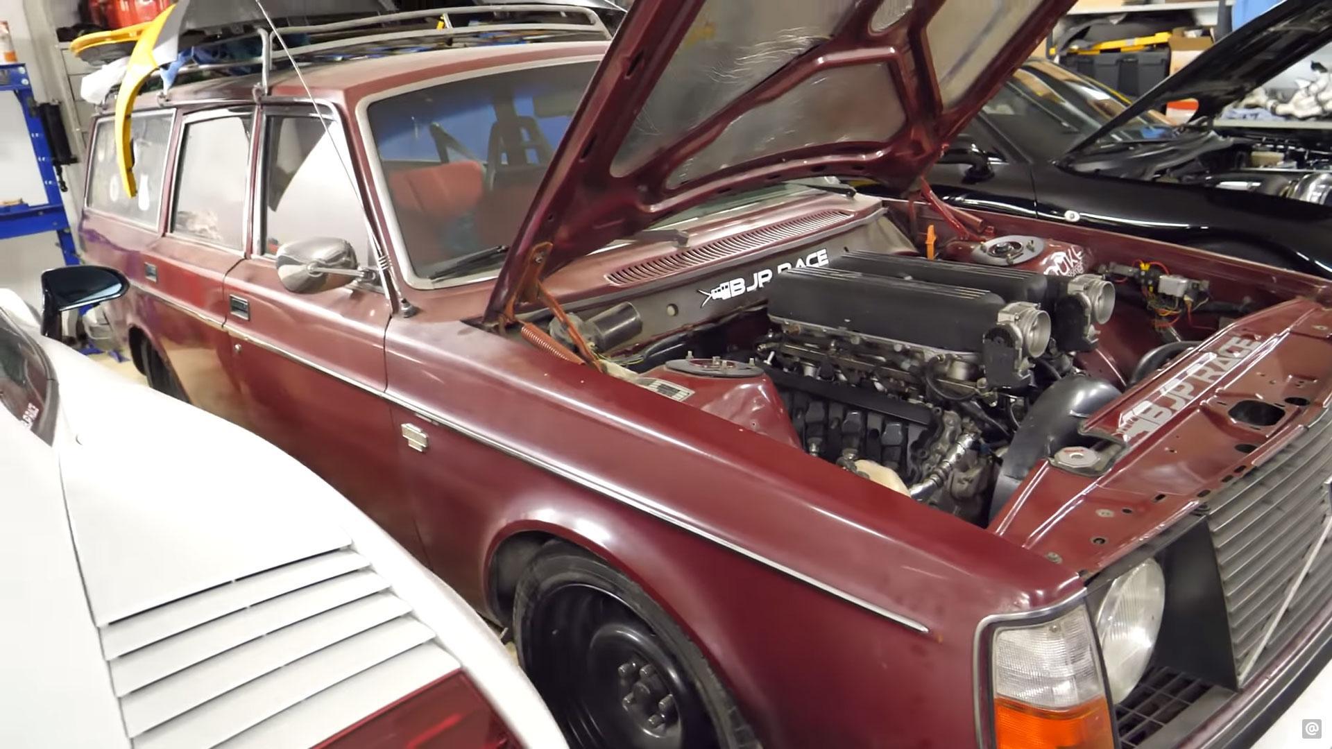 VolvoVolvo 245 met Lambo-V10 245 met Lambo-V10