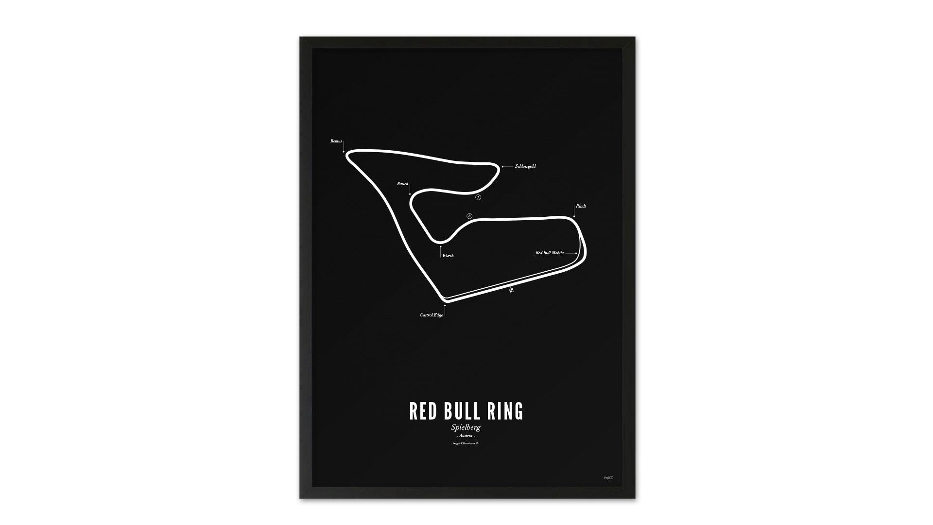 Red Bull Ring Spielberg poster