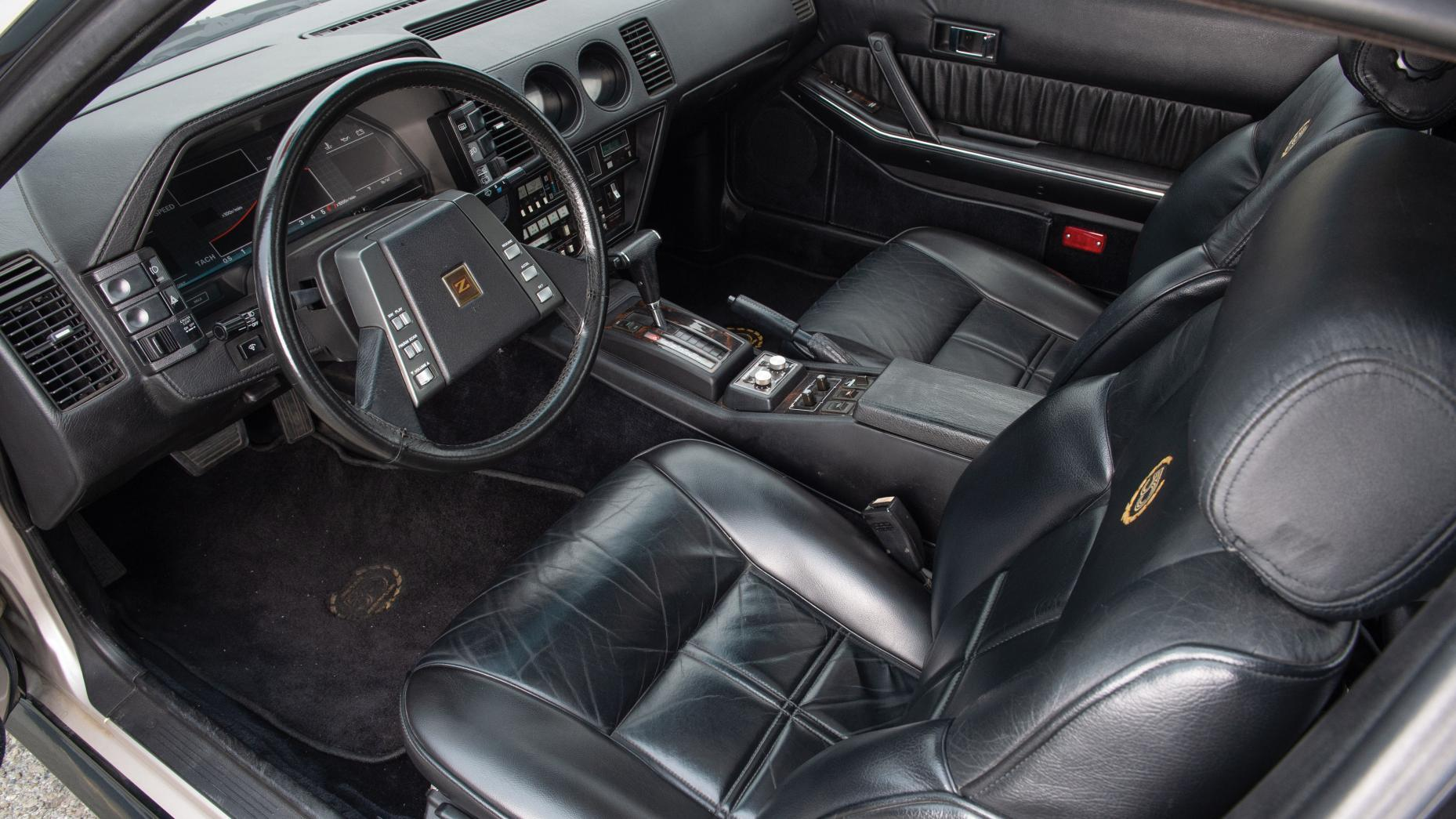 1984 Nissan 300ZX Turbo 50th Anniversary interieur