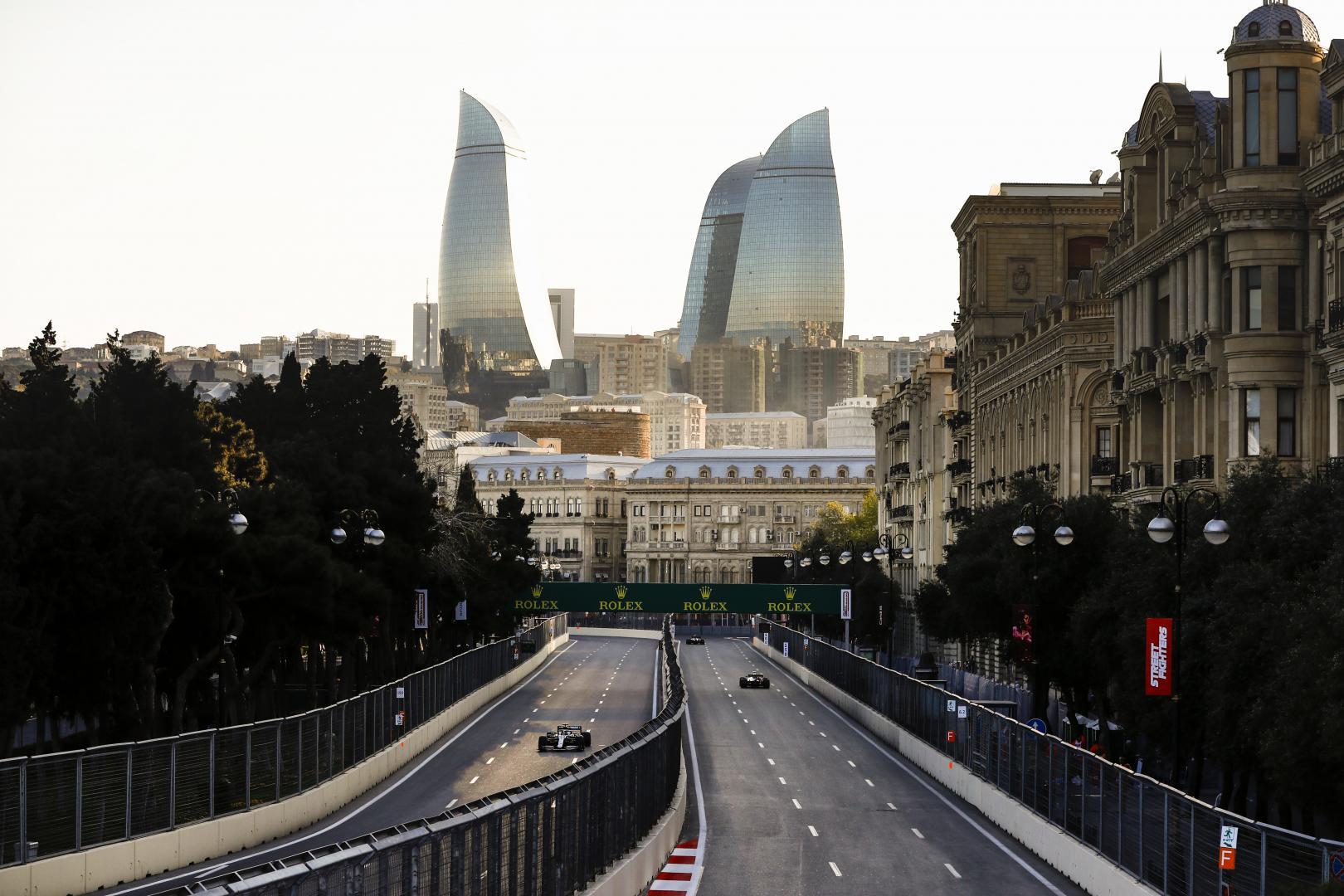 3e vrije training van de GP van Azerbeidzjan 2019