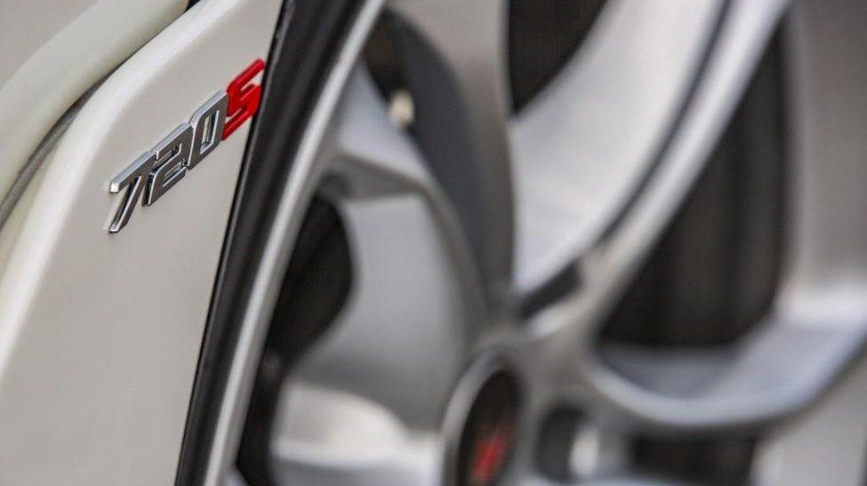 Hennessey McLaren 720S badge