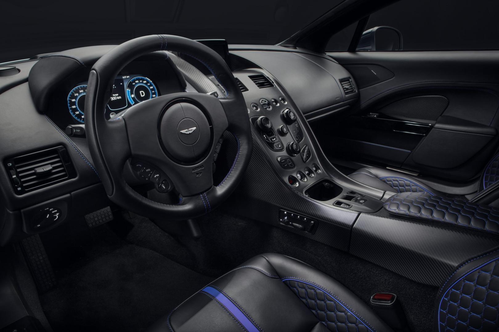 Aston Martin Rapide E interieur