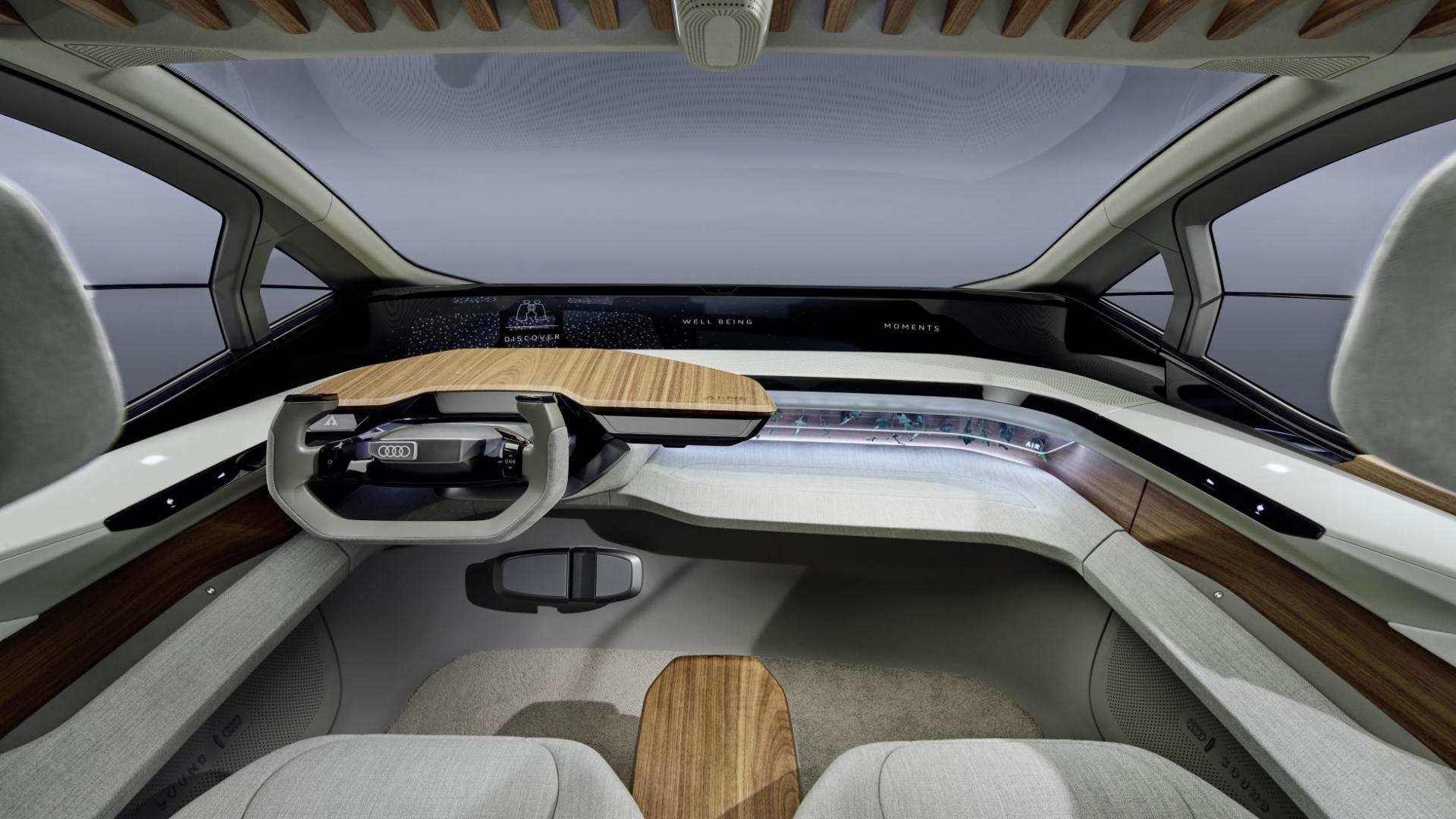 Audi AI:ME interieur
