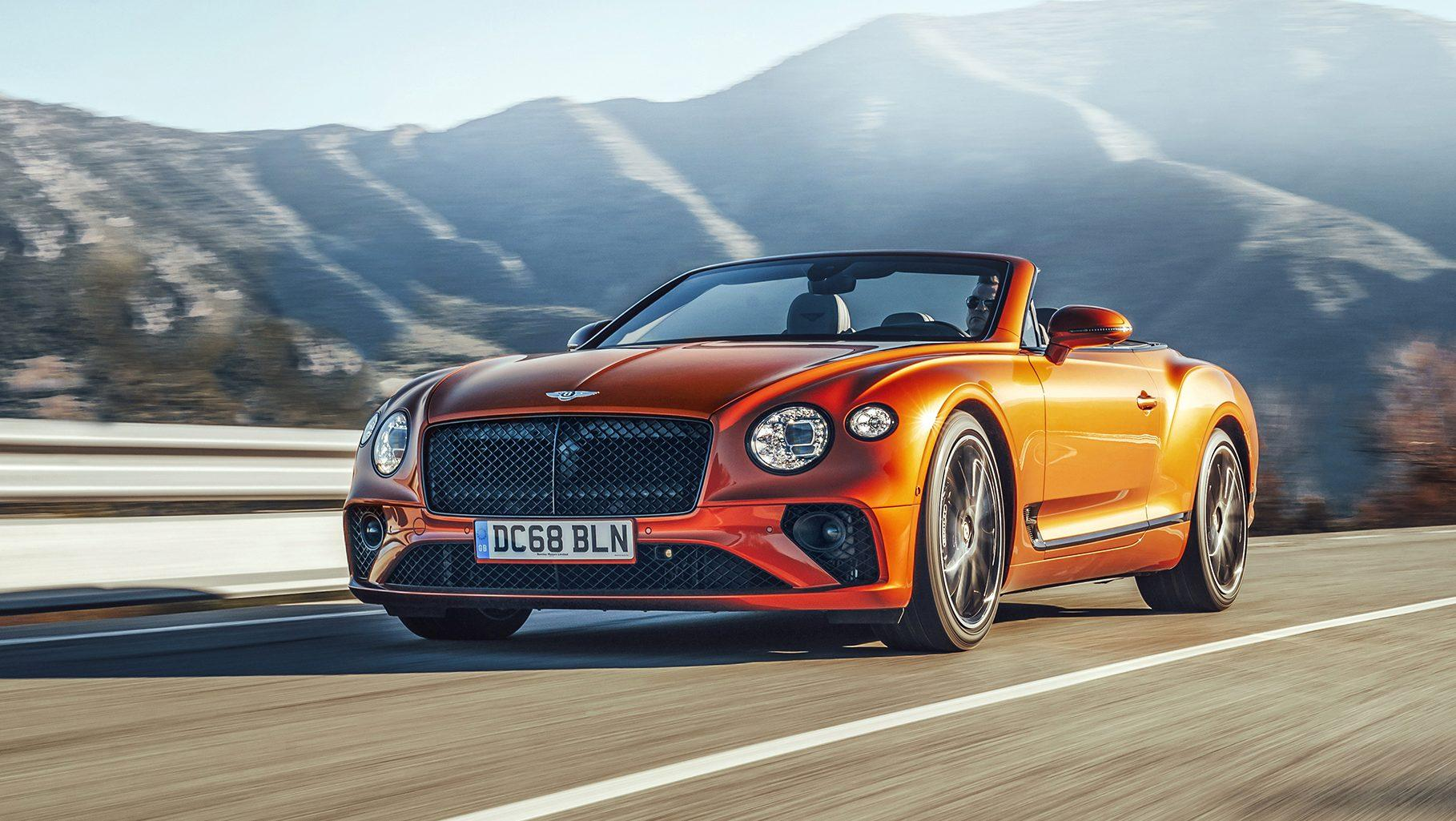 Bentley Continental Gt Convertible 2019 Test En Specificaties Topgear