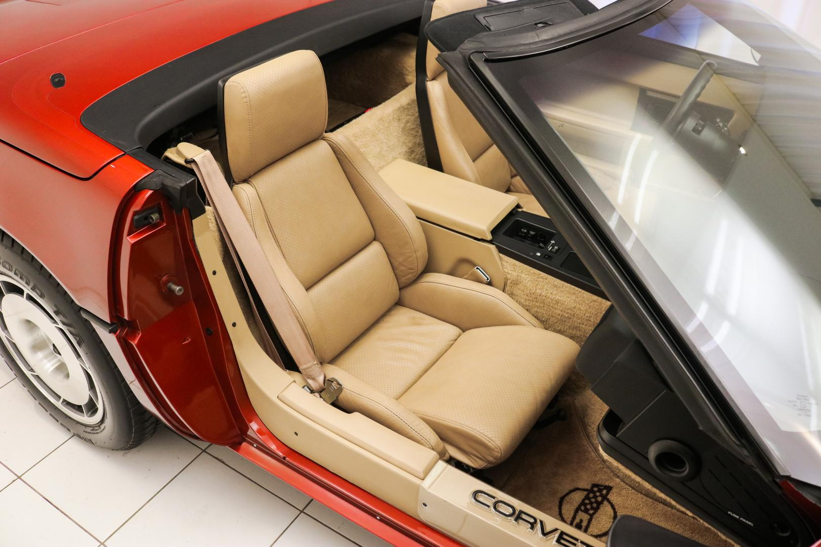 Chevrolet Corvette Pace Car Edition interieur