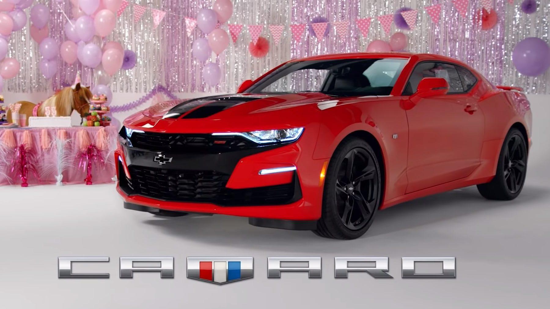 Chevrolet Reclame Mustang 55 jaar