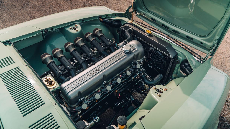 MZR Roadsports Datsun 240Z zes-in-lijn motor