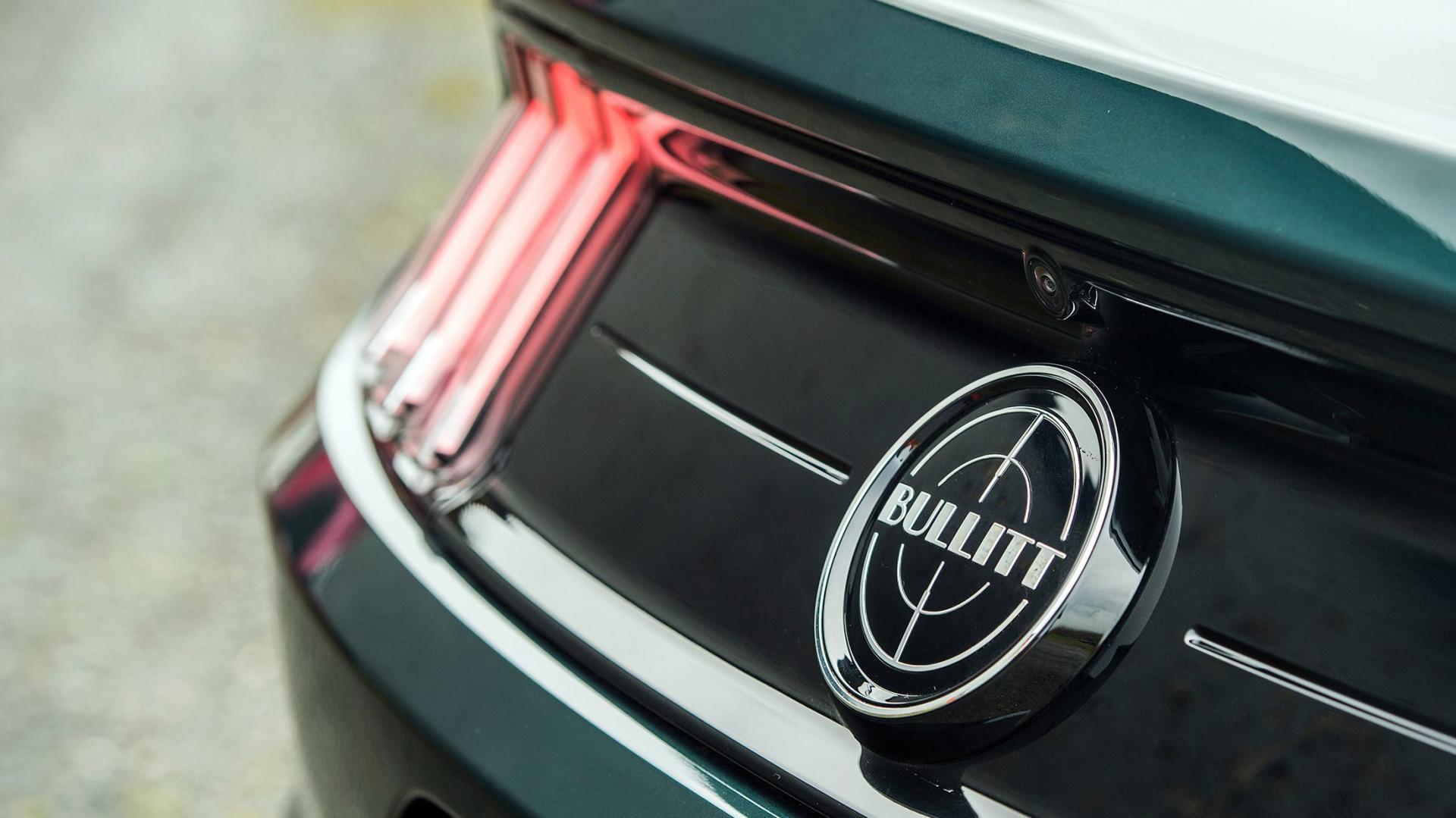 Ford Mustang Bullitt badge