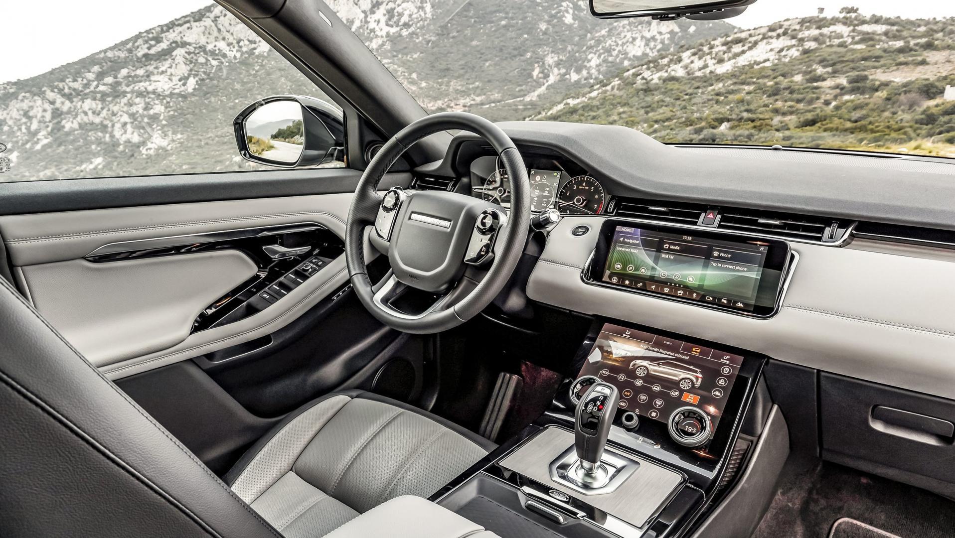 Range Rover Evoque P300 HSE R-Dynamic interieur dashboard