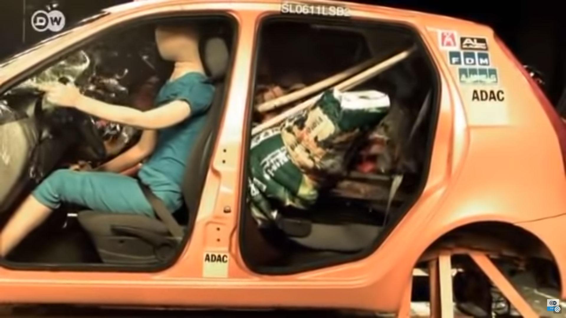 Losse troep in auto