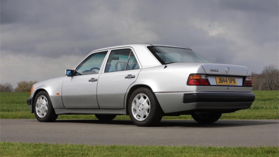 Mercedes 500E van Rowan Atkinson