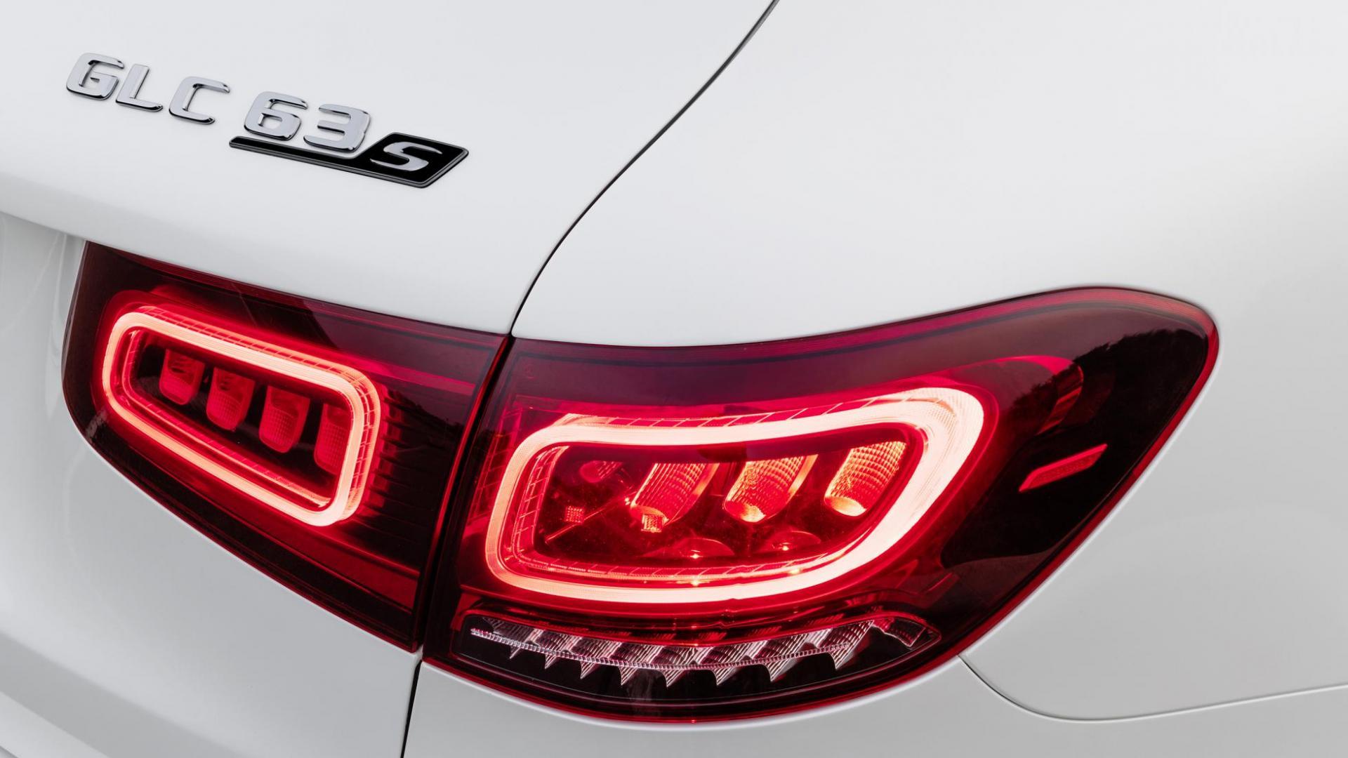 Mercedes-AMG GLC 63-facelift 2019 achterlicht