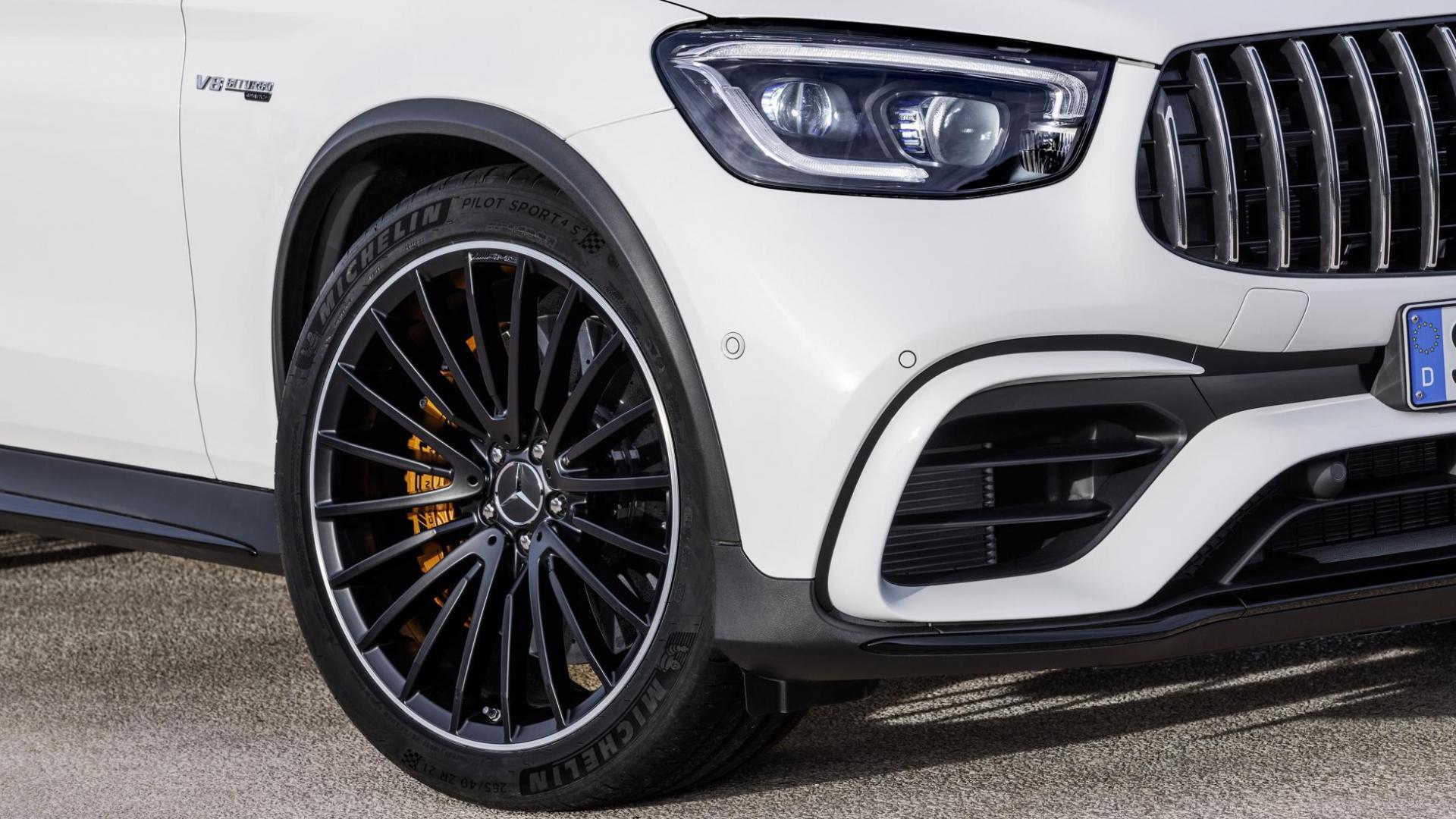 Mercedes-AMG GLC 63-facelift 2019 voorkant