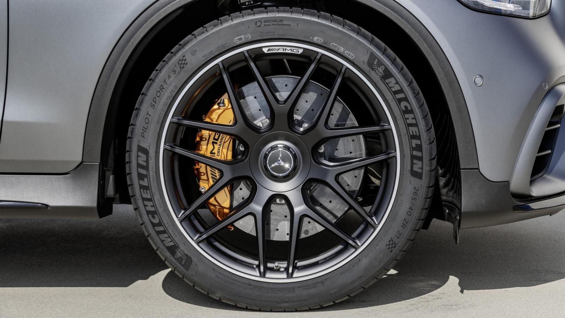 Mercedes-AMG GLC 63-facelift 2019 Coupé wielen