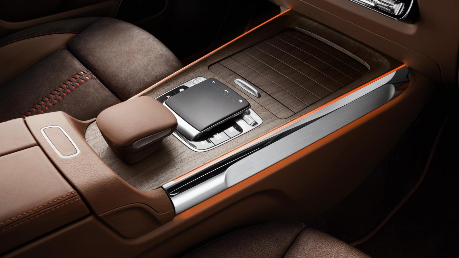 Mercedes GLB Concept 2019 interieur