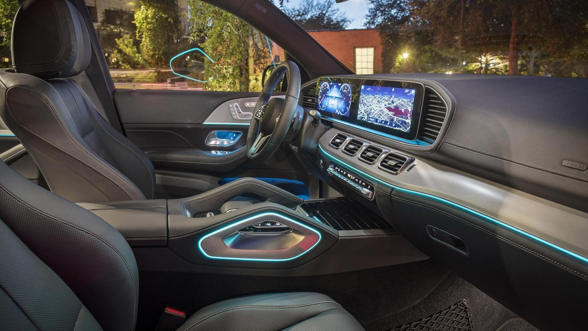 Mercedes-Benz GLE Interieur