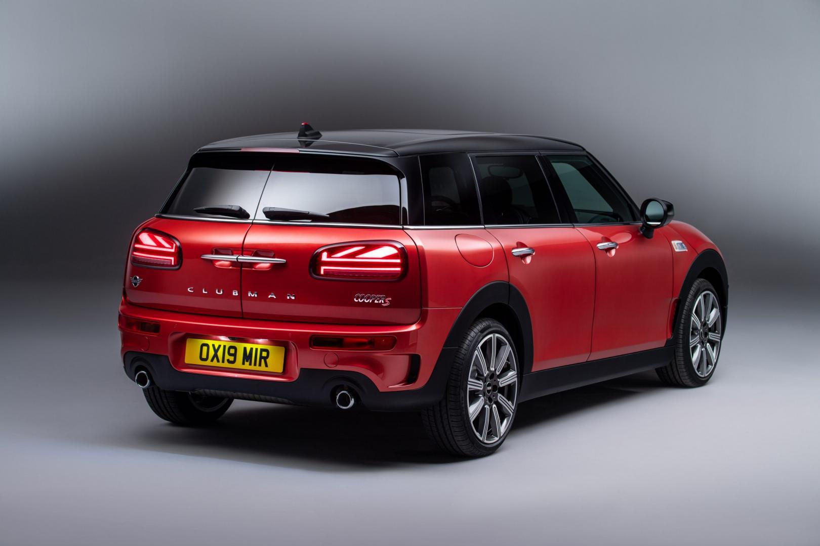 Mini Clubman Facelift 2019 deur kofferbak