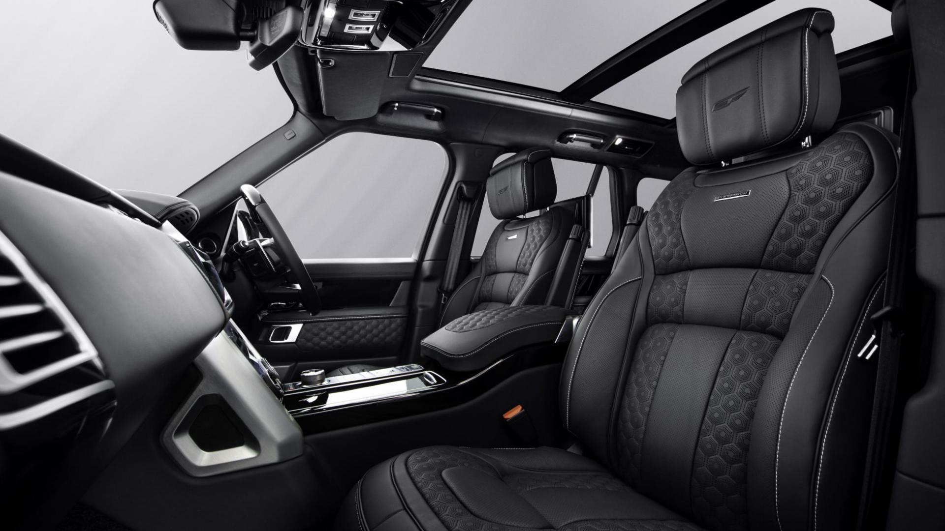 Overfinch Velocity interieur