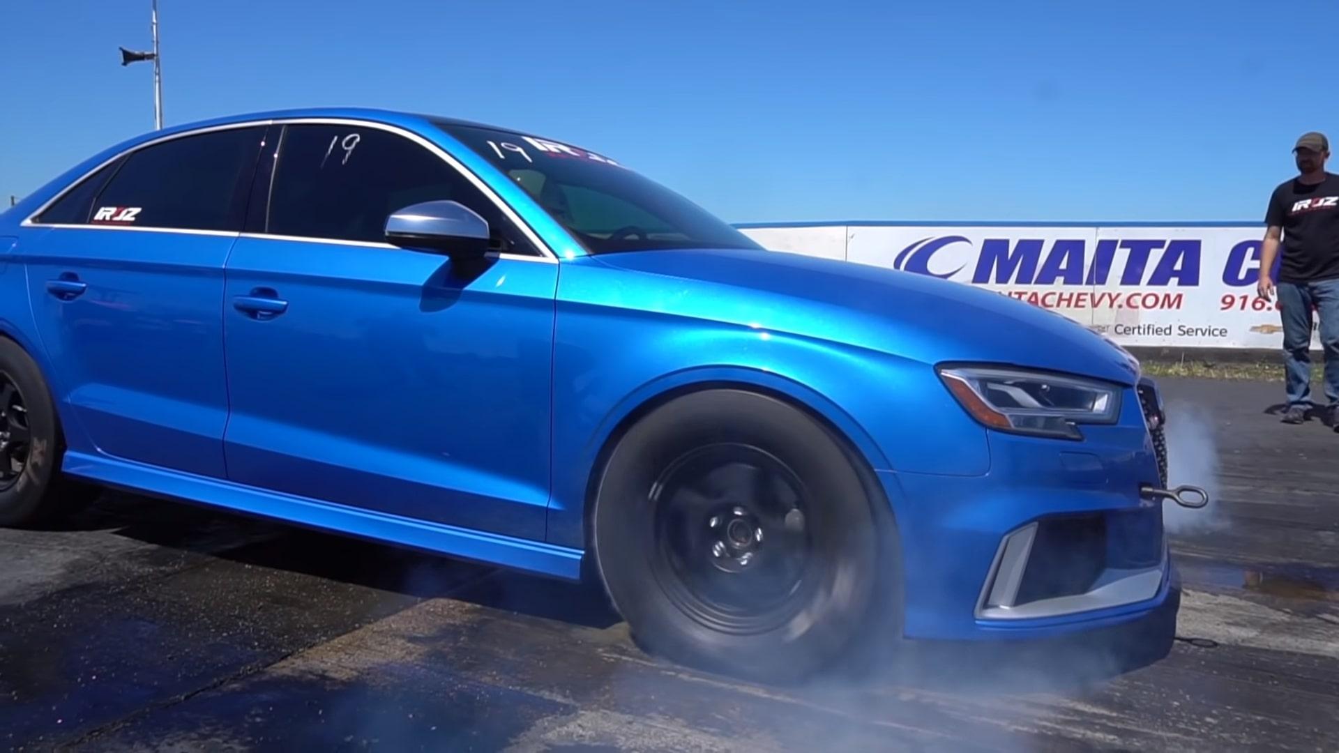Snelste Audi RS 3 van Iroz Motorsports
