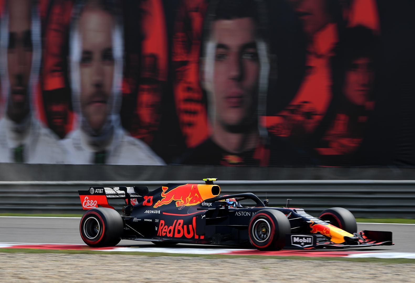Uitslag van de GP van China 2019