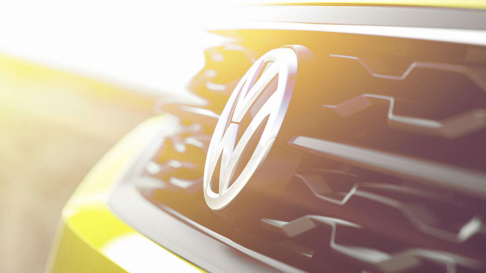 Volkswagen embleem logo badge